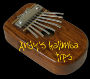 Andy's Kalimba Tips